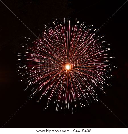 fireworks festival in Malta, Colourful fireworks, New year, Christmas holidays, Independence day,