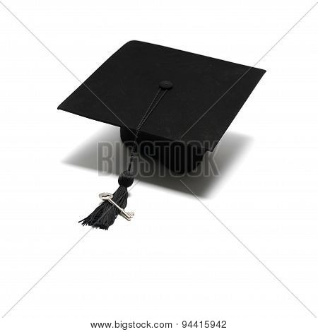 Graduation Cap With Key