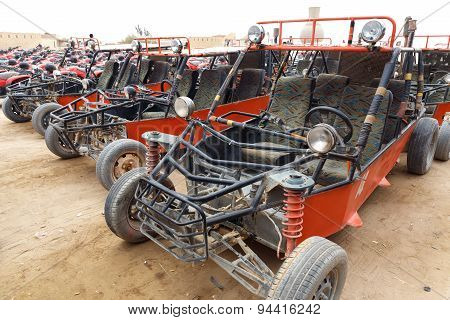 Parking Of Buggy