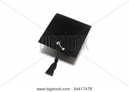 Graduation Cap With Key