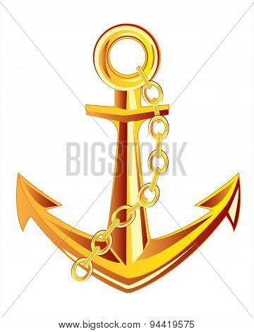 Anchor from gild