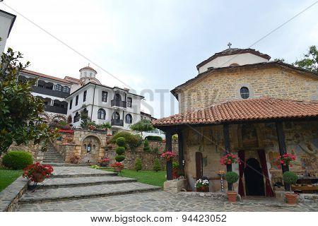 Monastery Sv. Jovan Bigorski Monastery. Macedonia