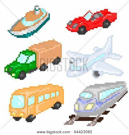 Transport pixelart