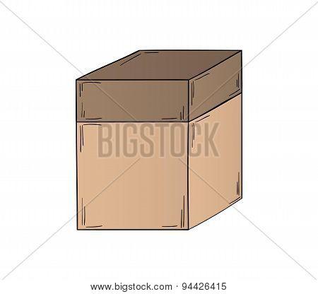 Closed Paper Box