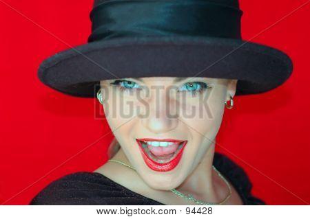 Woman In Hat 5