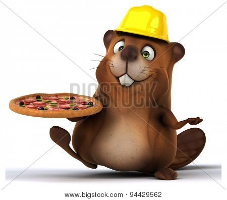 Fun beaver