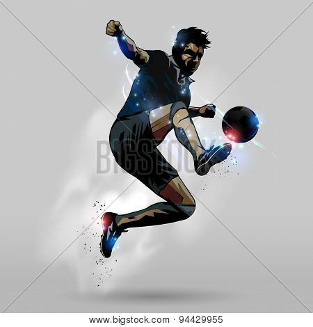 Soccer Jumping Touch Ball