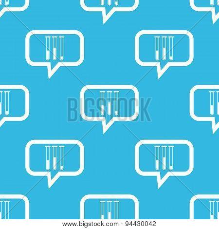 Test-tubes message pattern