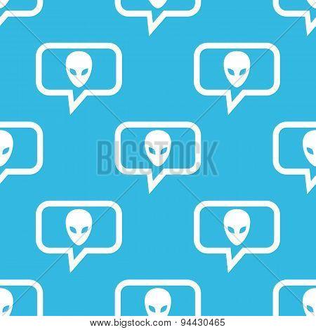 Alien message pattern