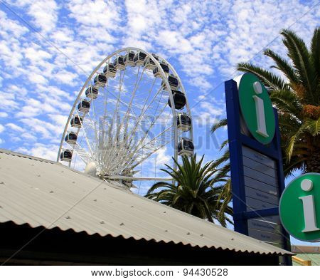Big Ferris Wheel In Cape Town