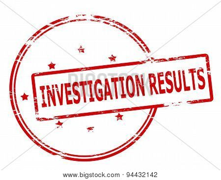 Investigation Results