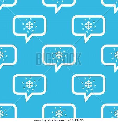 Snow message pattern