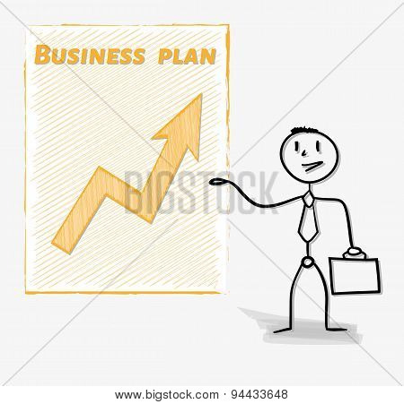 Man And His Business Plan
