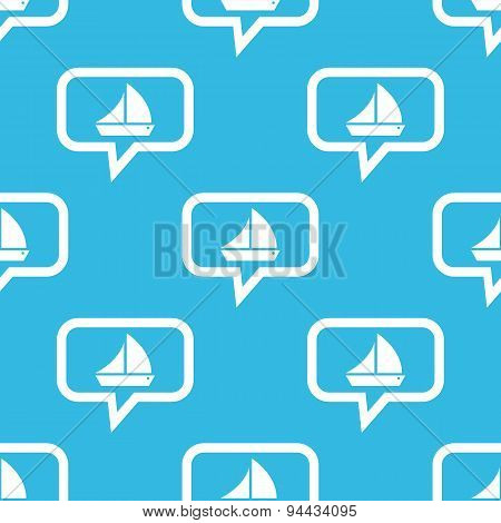 Sailing ship message pattern