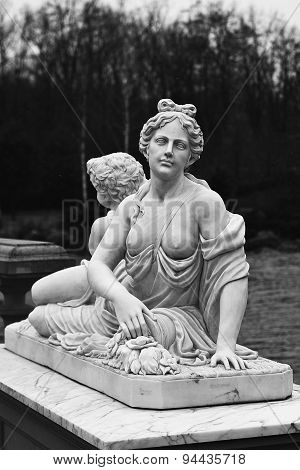 Monument Of Woman With Baby