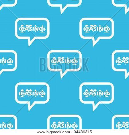 Casino message pattern