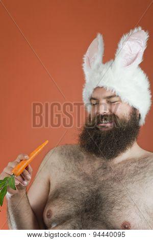 Sarcastic Bunny Man