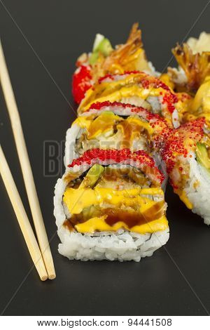 Shrimp Tempura Sushi Roll