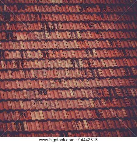 Roof Tile Background