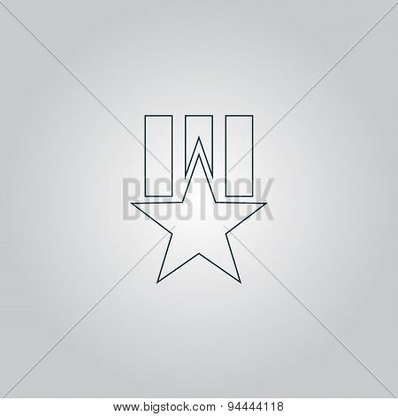 Order with star