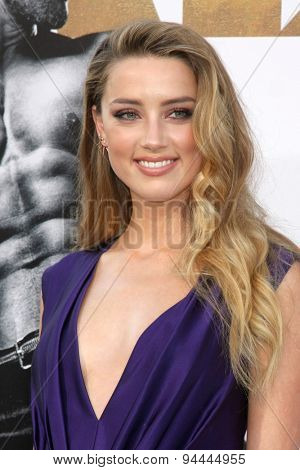 LOS ANGELES - JUN 25:  Amber Heard at the