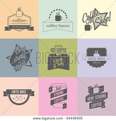 Coffee Shop Logo Ideas For Brand.