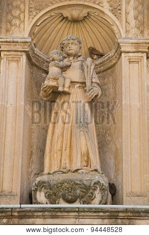 Ridola Museum. Matera. Basilicata. Italy.