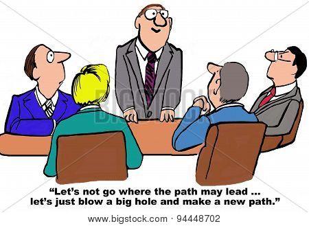 Make a New Path