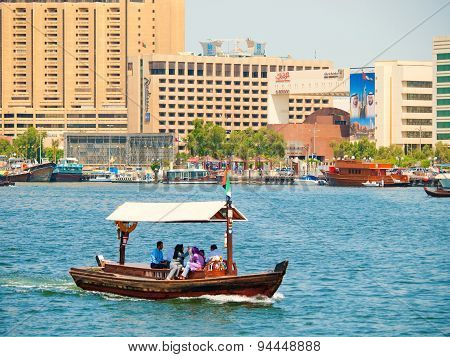 Water Taxi (abra), Dubai Creek