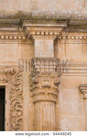 Purgatory church. Matera. Basilicata. Italy.
