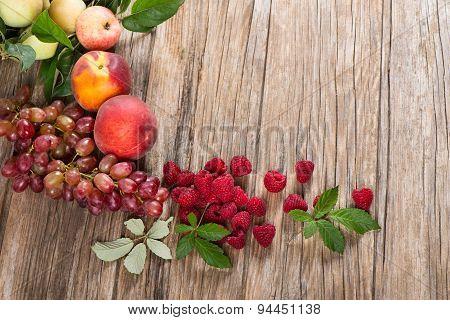 Organic Berries And Fruit
