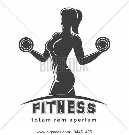 Fitness Club Emblem