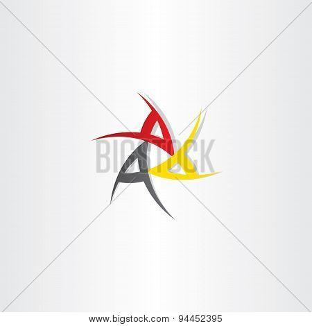 Triple A Symbol Design