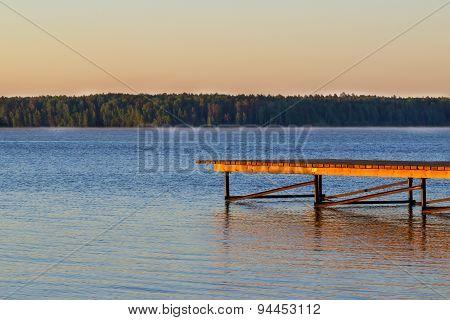 Mooring, Lake