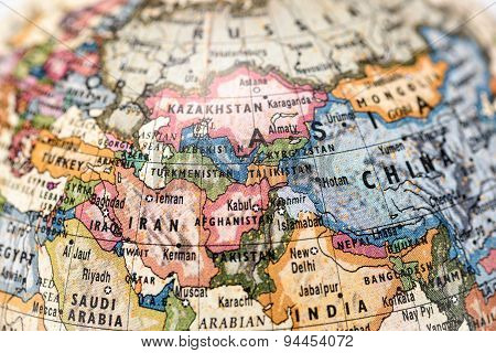 Globe Central Asia