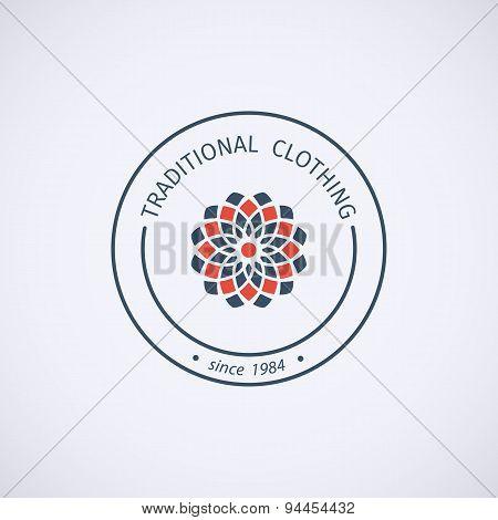 Vector asian logo template