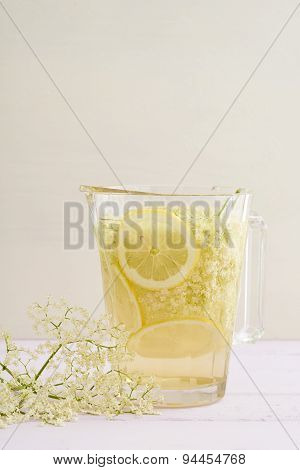 Infused Elderflower Syrup