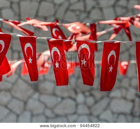 Turkish Flags Decoration
