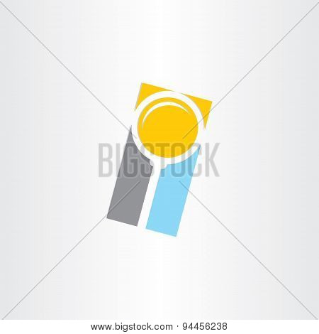 Search Magnifier Abstract Icon