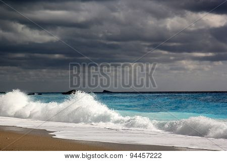 Katishma Beach, Lefkada Island