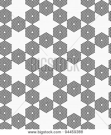 Textured With Hexagons Hexagonal Grid