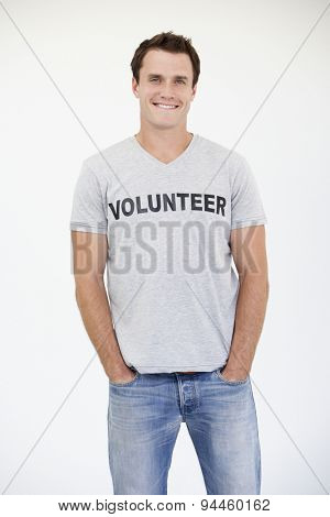 Portrait Of Male Volunteer