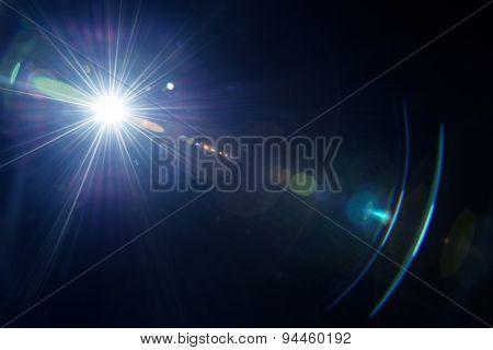 Natural lens flare.