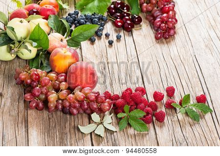 Delicious Fruits And Berries