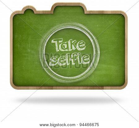 Take selfie concept