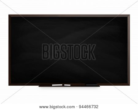 Blackboard isolated on a white background