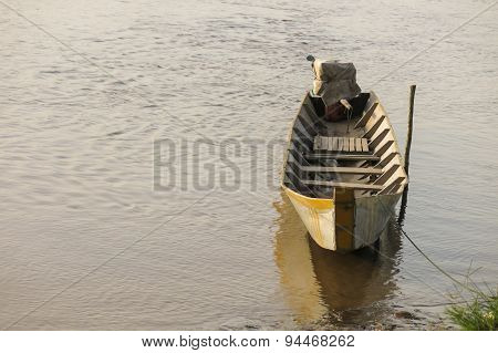 Boats On Beni River, Rurrenabaque, Bolivia