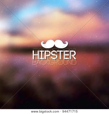 Hipster background