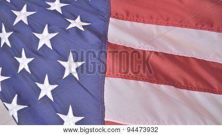 Flag Of United States Of America, Faded