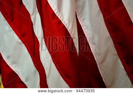 Stripes Of The American Flag, Holiday Background